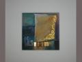 """""""Der goldene Weg"""" - 21 x 21 cm"""