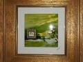 """""""Der grune Planet"""" - 36 x 36 cm"""
